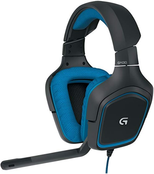 Logitech G430 7.1 DTS Headphone X and Dolby Surround Sound Gaming Headset for PC